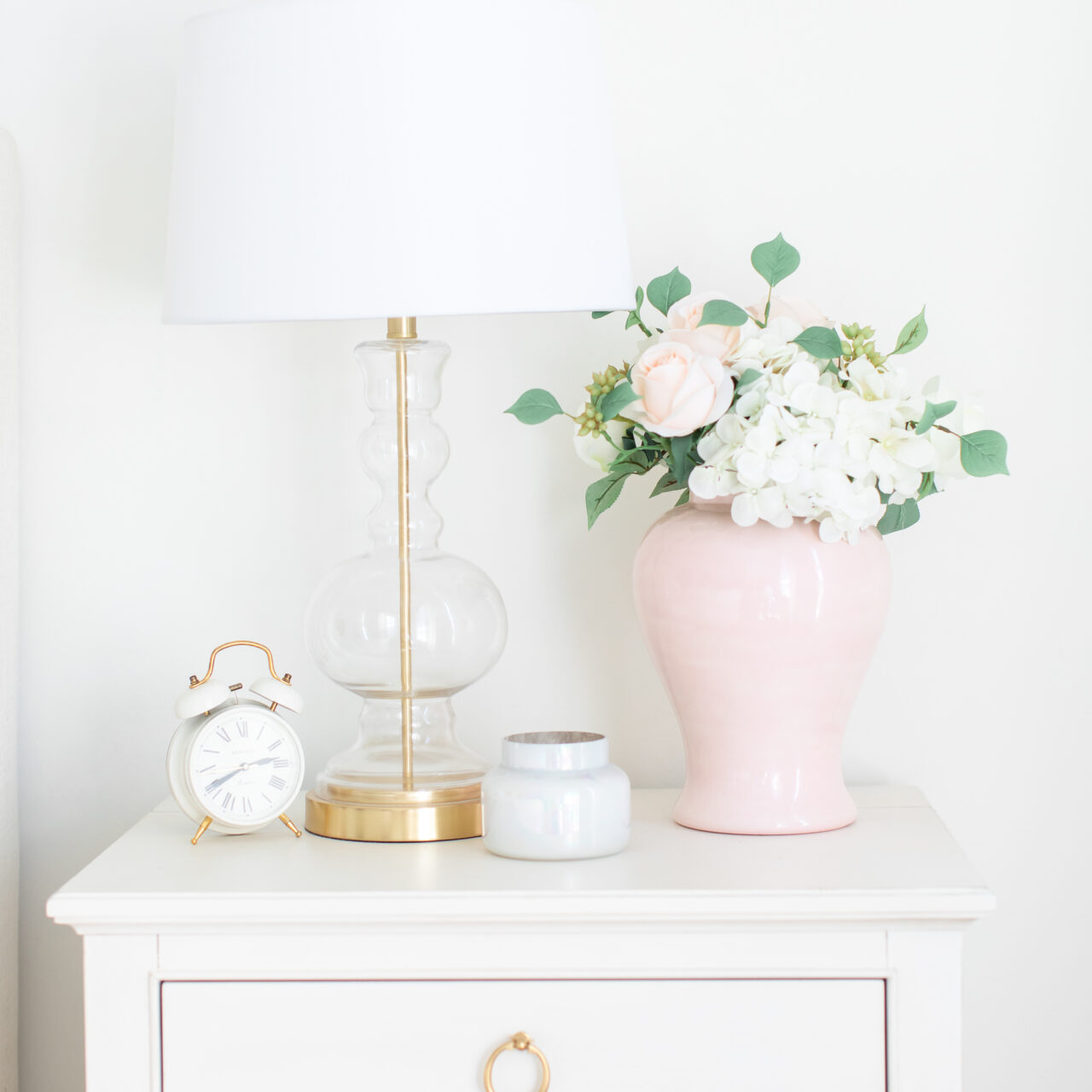 Spring refresh for nightstands