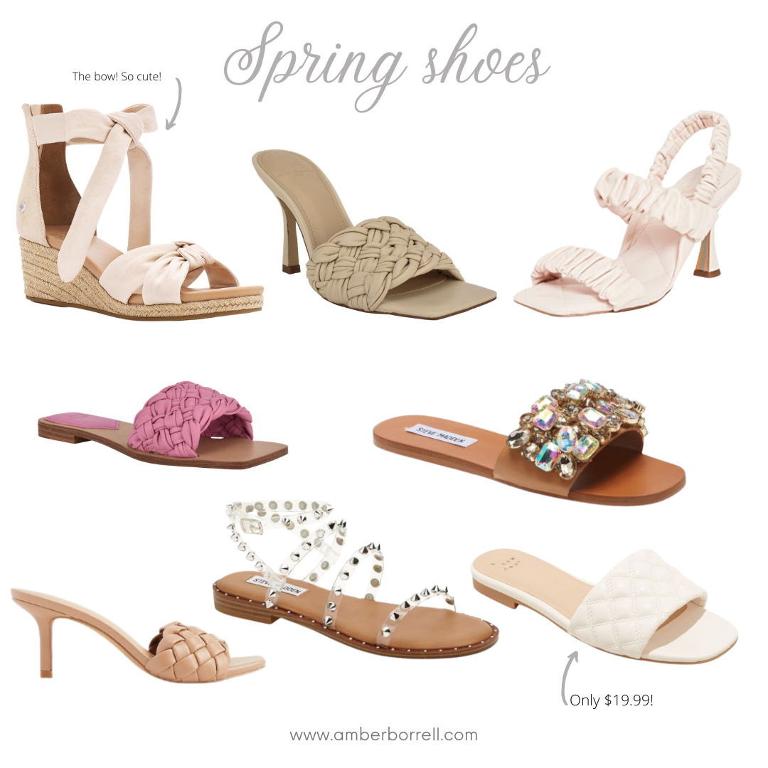 Spring shoes, sandals
